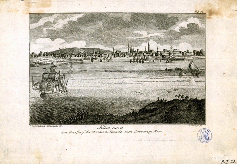 Chilia Noua. Kilia nova. Johann Karl Balzer , Kleemann.1768
