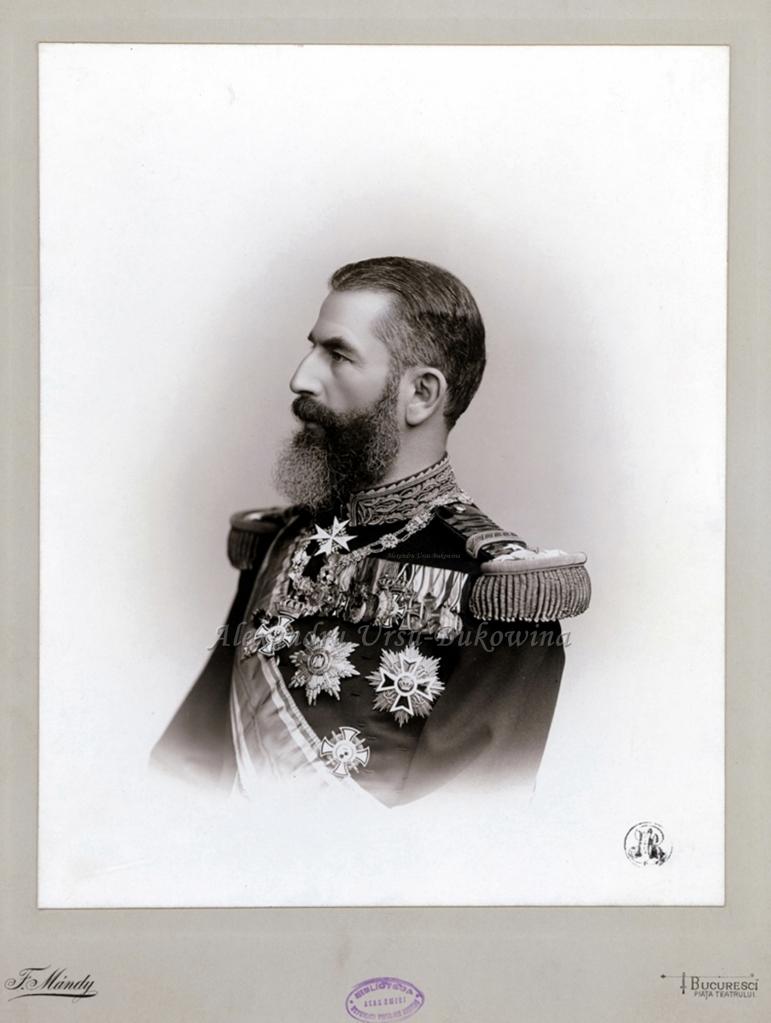 FR Regele Carol I al Romaniei.1893.Franz Mándy